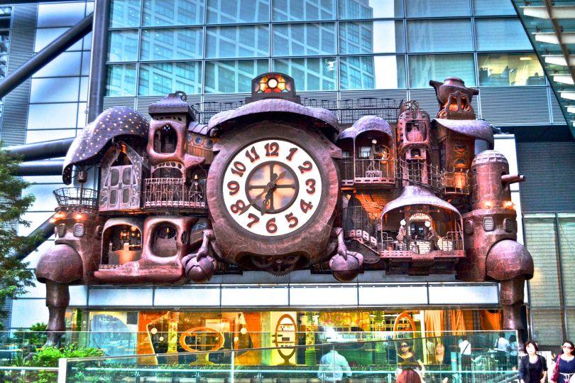 NI-TELE Really BIG Clock by Miyazaki (Tokyo, Japan)